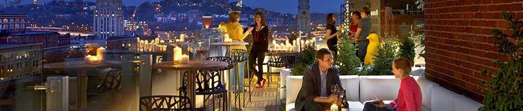 Rooftop bar, debutting Spring 2013, at 21c Museum Hotel #Cincinnati