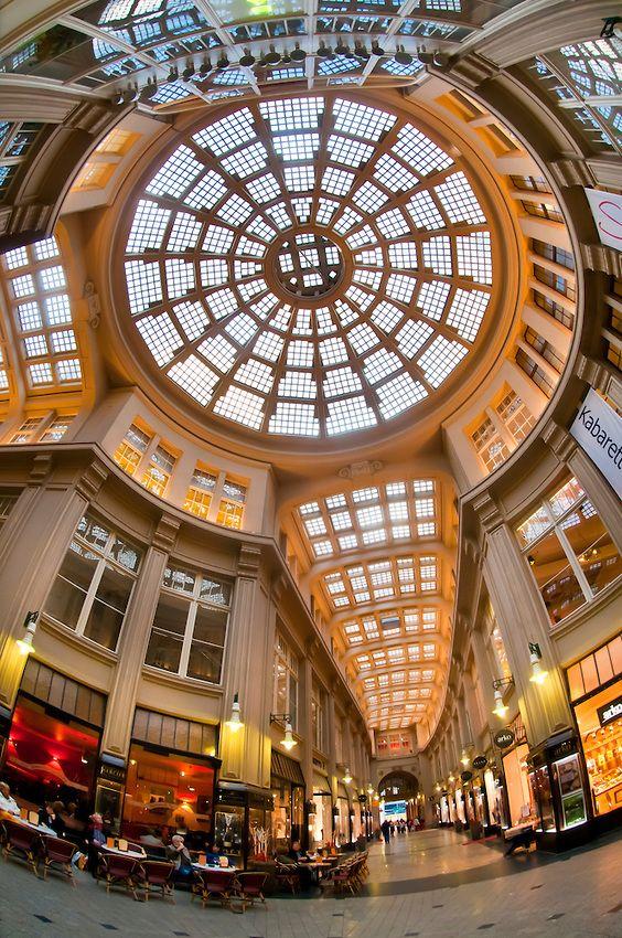 Madler Arcade - Leipzig, Saxony, Germany