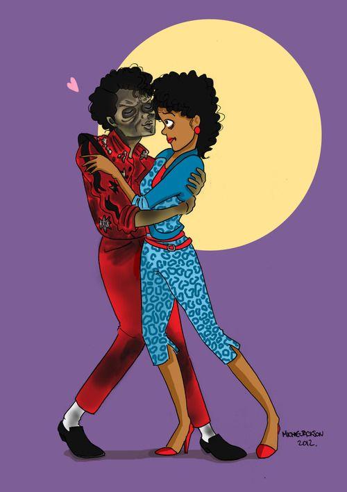 MJ Cartoon | Michael Jackson - Thriller Cartoon