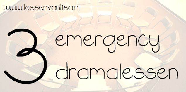 Soms heb je op het laatste moment een dramales nodig, bijvoorbeeld omdat je moet…