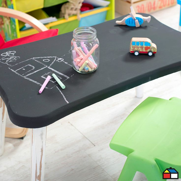 #Mesa #Infantil #Tiza #dibujo Computer Mouse, Deco, Mesas, Little Cottages, Dibujo, Furniture, Home, Pc Mouse, Decor