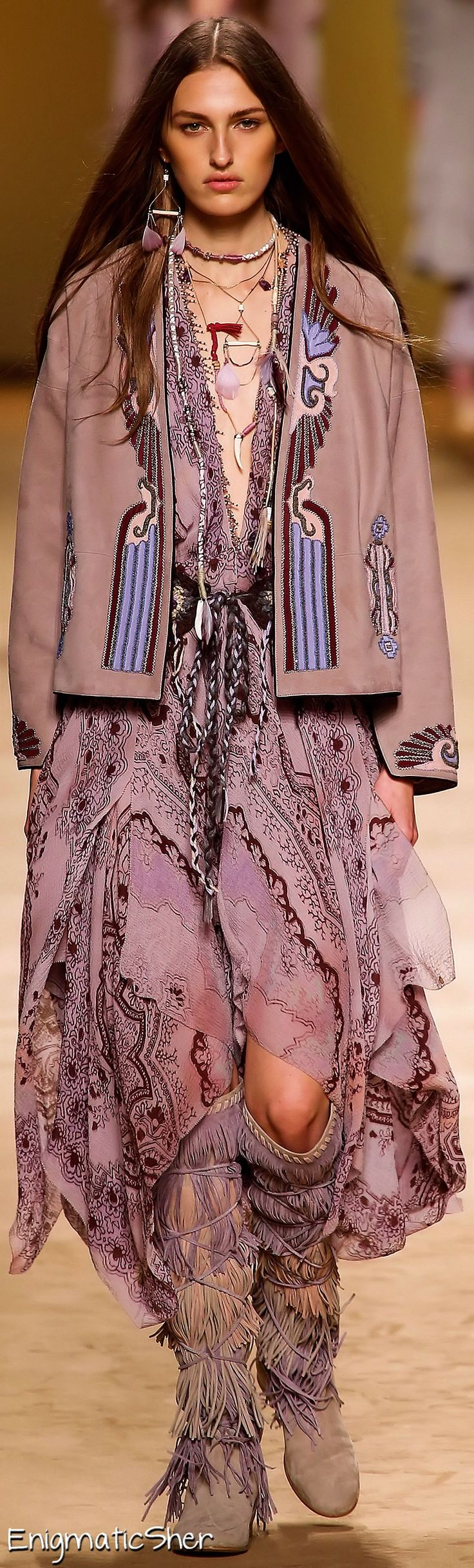 Etro Spring Summer 2015 BOHO FASHION