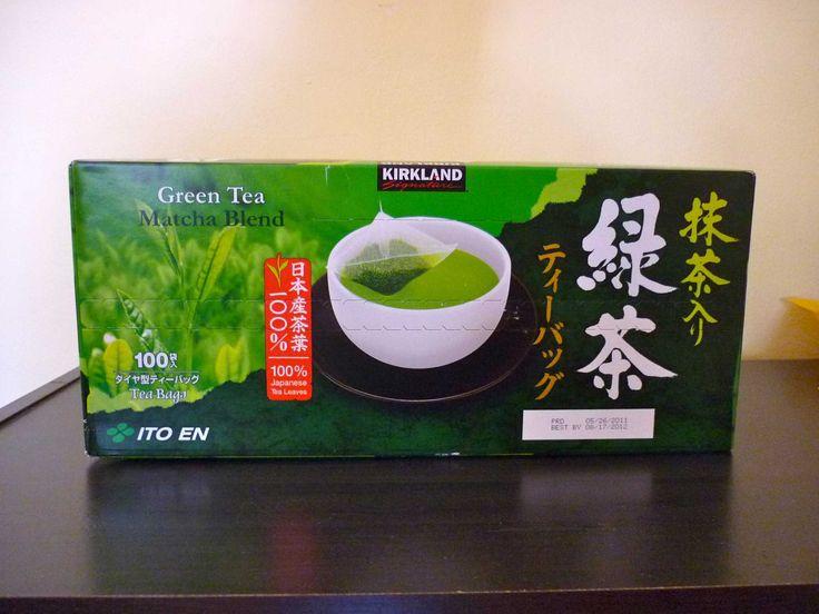 Kirkland Green Tea Bag Why should we have green tea regularly