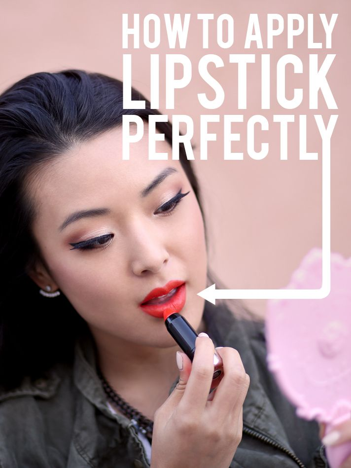 Lipstick 101: How to Apply Lipstick Perfectly