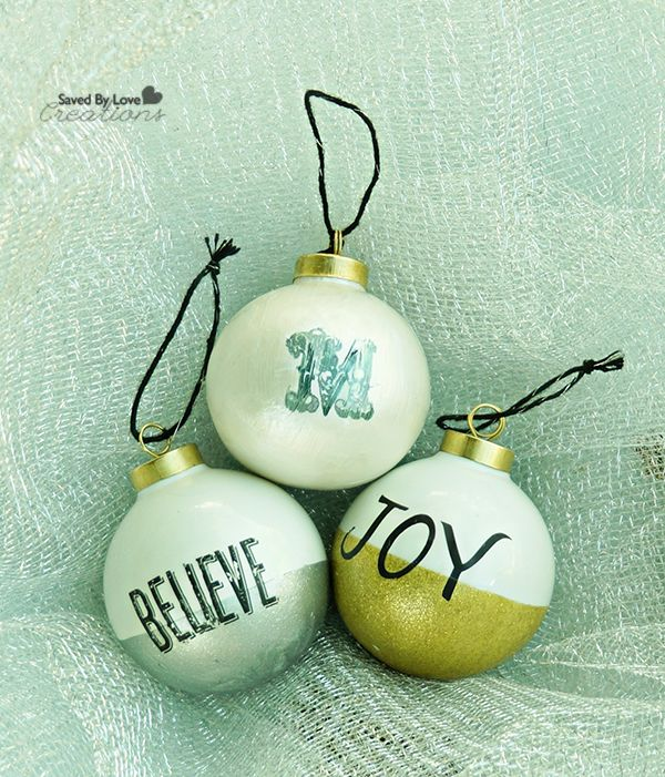 DIY Christmas Ornaments: