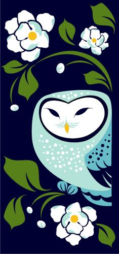 'Little Owl 3' by Susan Crawford of Plankton Art Co photo by by plankton art co. on Flickr