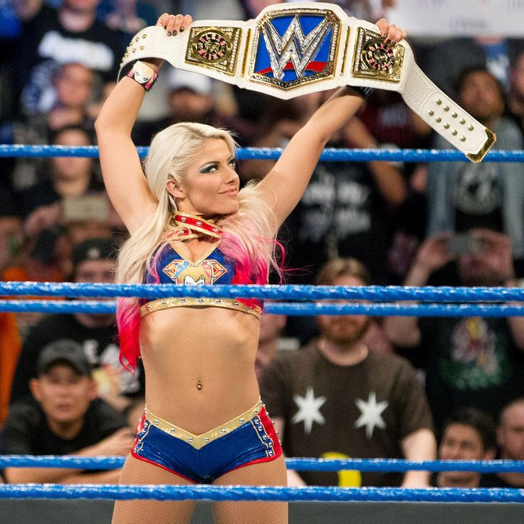 Alexis Bliss WWE Smackdown Women's Champion