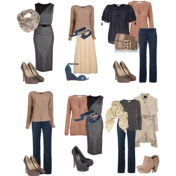 """soft seasons basic colors"" by sabira-amira on Polyvore"