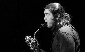 Saxophonist Joshua Hyde