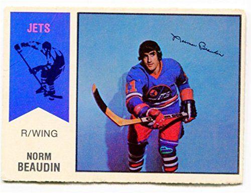 1974/75 OPC WHA Norm Beaudin Card #11 Winnipeg Jets OPC https://www.amazon.ca/dp/B01MU26P90/ref=cm_sw_r_pi_dp_x_JmuHyb7A2WFD5