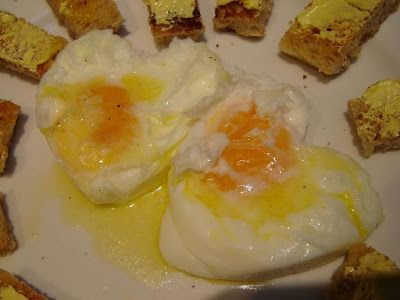Thermomixer: Thermomix Steamed Eggs