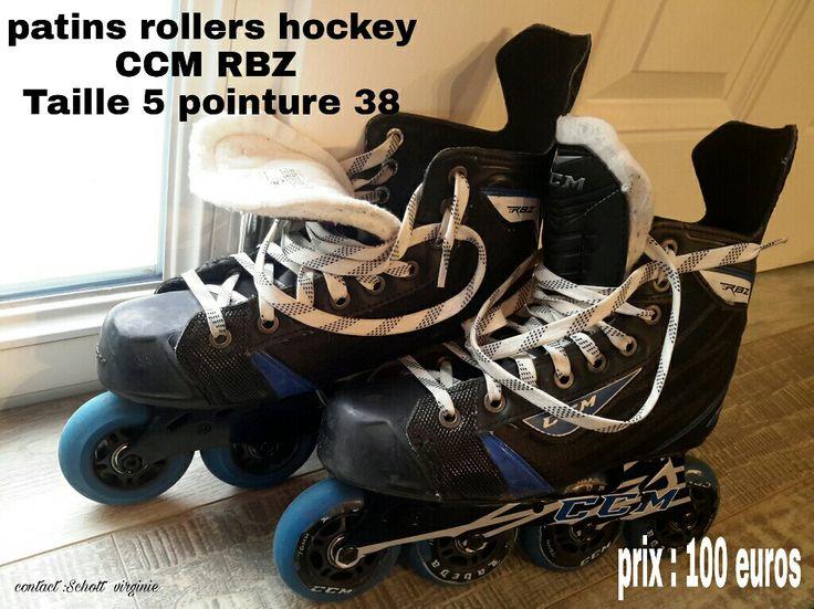Patins hockey roller CCM