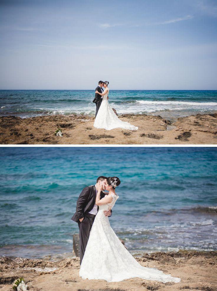 Kibris Dugun Fotografcisi - plaj düğünü