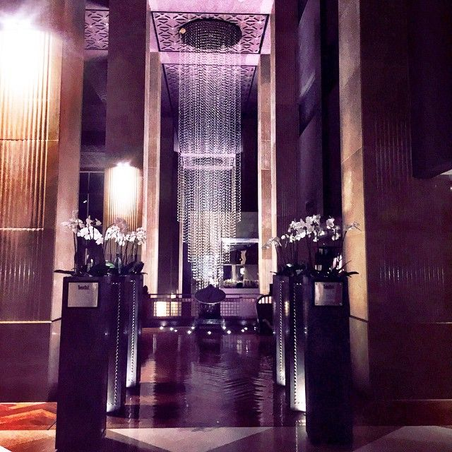 A peek inside Grand Hyatt Doha, photo courtesy of Maria Thompson.