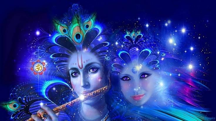 Radha and Kishan - Digital Image