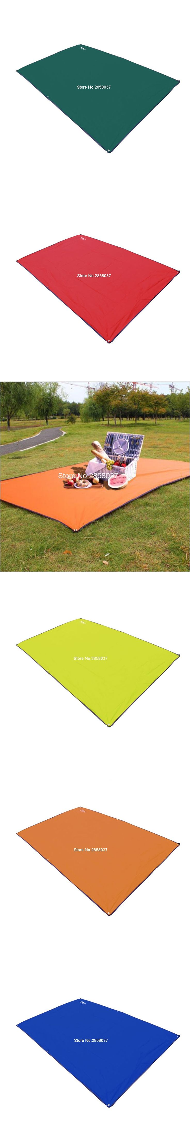 FLYTOP 150*220cm 3-4 Person Outdoor Picnic Camping Mat Beach Tent Awning 9 Colors
