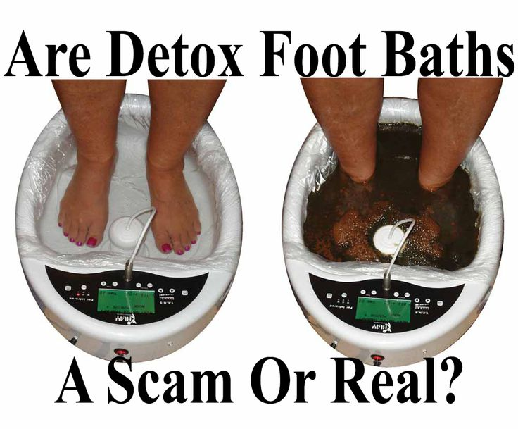 "Onology Specialist Christine Adamo is a supporter of the ""true"" detox foot bath and uses them in her practice, particularly with her cancer patients to help with the side effects of chemotherapy http://www.extremenaturalhealthnews.com/are-detox-foot-baths-a-scam-or-real/"
