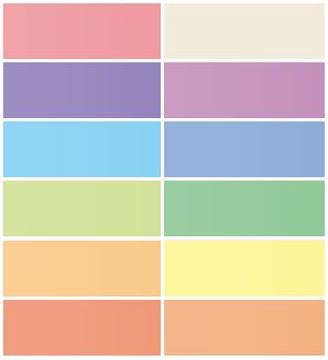 Free Blog Header Images in Plain Pastel Colors | Colors ...