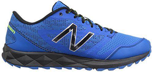 New Balance Men's MT590V2 Trail Running Shoe, Electric Blue/Black/Hi Lite, 10 4E US