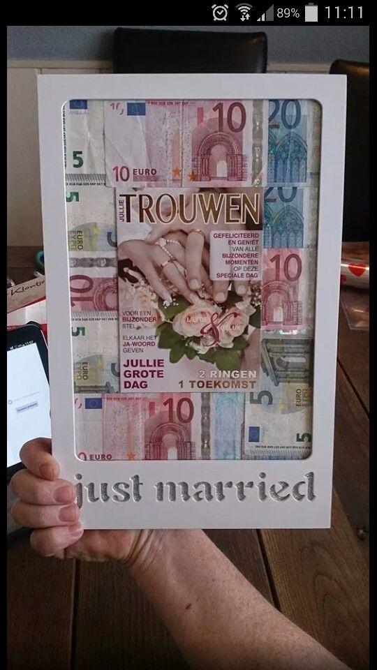 Grappig cadeau voor bruidspaar