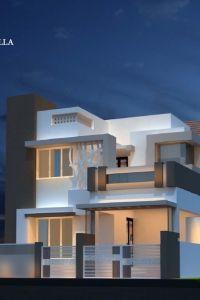 Sree Daksha's Thvisha - Villa Elevation