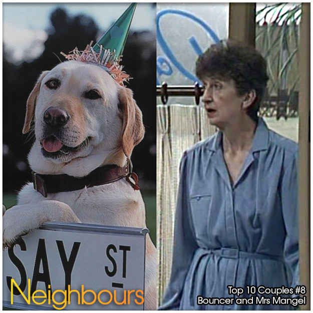 Mrs Mangel and Bouncer | Top 10 Neighbours Couples Of All Time
