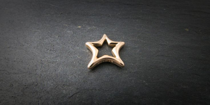 18ct Rose gold pendant