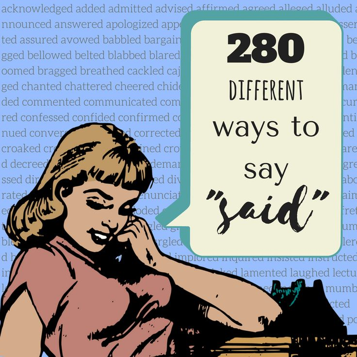 280 Different Ways to Say 'Said' - The Puppet Show