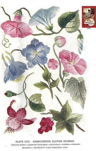Brainerd & Armstrong CXX 1907 by Embroiderist, via Flickr