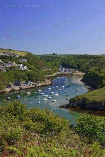 Solva St Brides Bay Pembrokeshire Wales