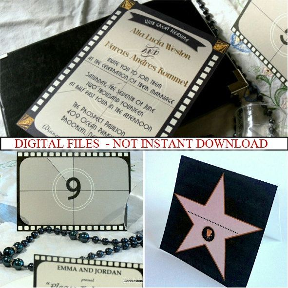25+ Best Ideas About Hollywood Invitations On Pinterest