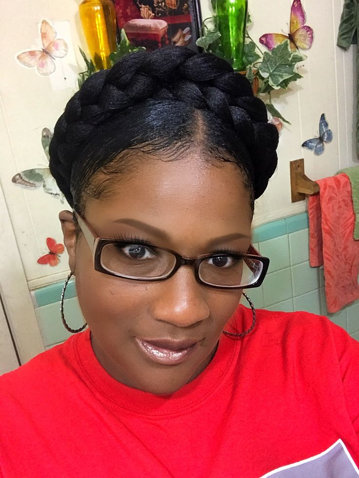 Double Halo with Expression hair for braids