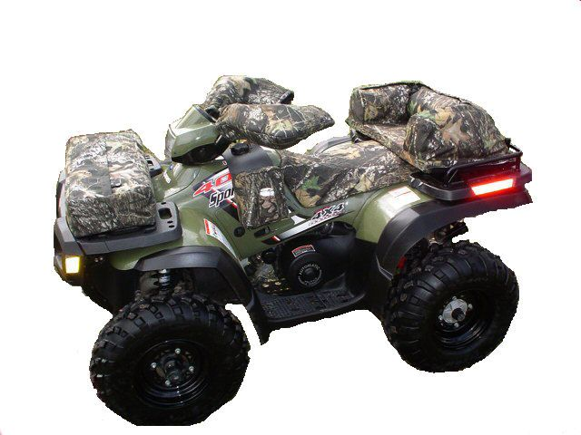4+wheelers   Custom fitted atv seat cover on a 4 wheeler
