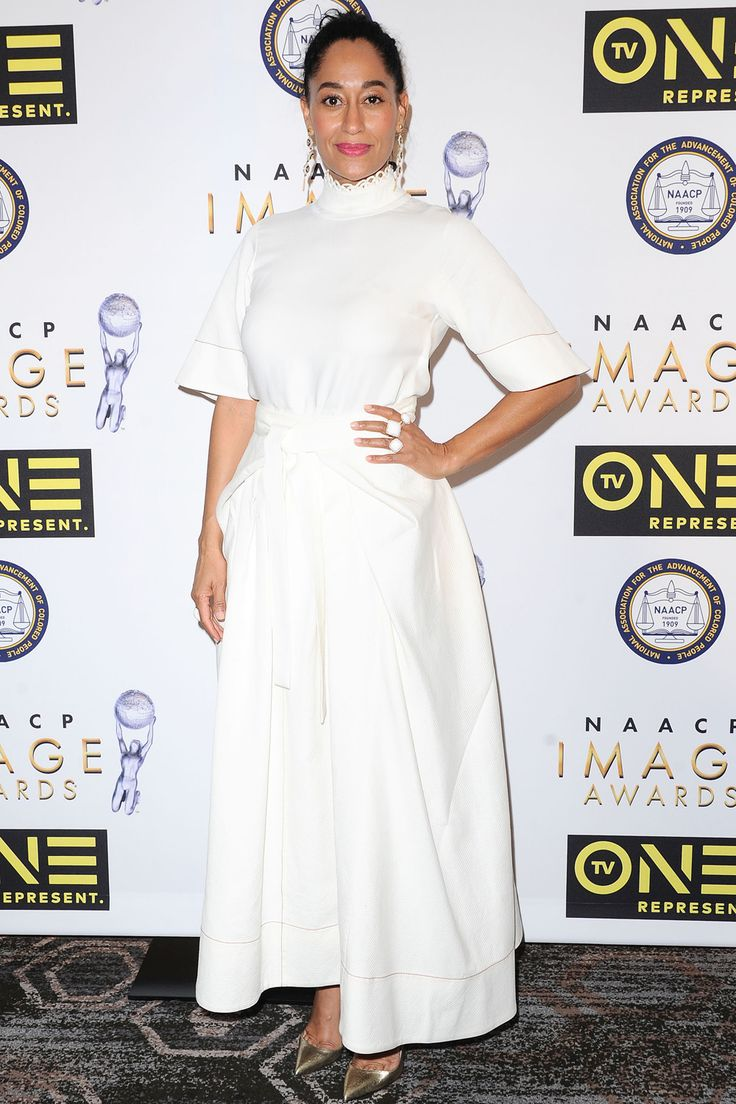 Tracee Ellis Ross Keeps it Crisp at the NAACP Image Awards Nominees Luncheon | Tom + Lorenzo