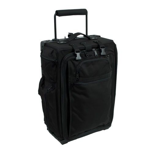 "luggageworks 22"" roller metal side"