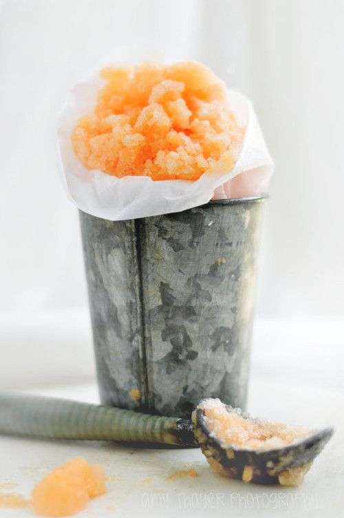 Cantaloupe Granita by Cooked with Love,Mom