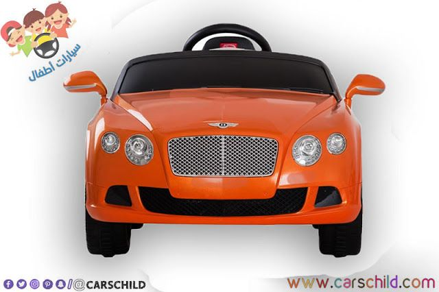 سيارة Bentley كهربائية صغيرة Bentley Gt Beautiful Stickers Toy Car
