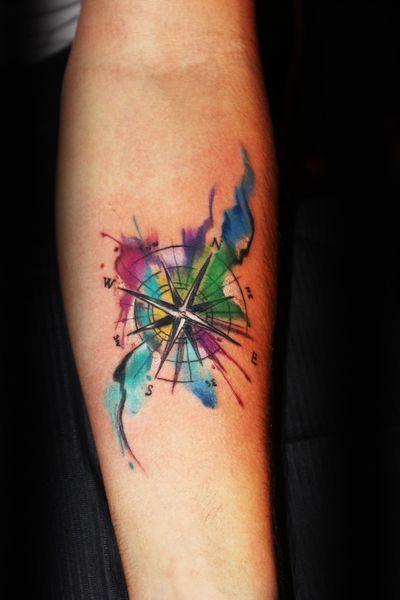 Aquarell Tattoo, Wasser Tattoo, Aquarell Tattoo, Aquarell Tattoo, Aquarell Tattoo, Wasser Tattoo, Wasserfarben Tattoo, Aquarell Tattoo, Tattoo Wasser, Ted Bartnik