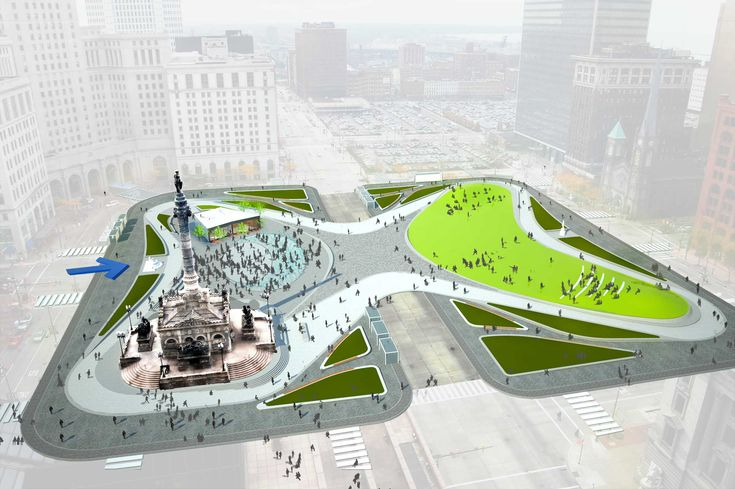 The design of the city's new Public Square will literally define the shape of protests in Cleveland.