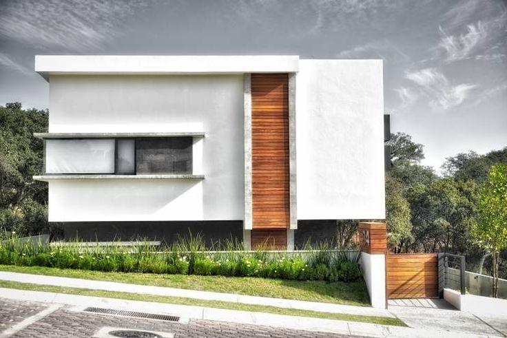 M s de 1000 ideas sobre fachadas casas minimalistas en for Casa minimalista pinterest