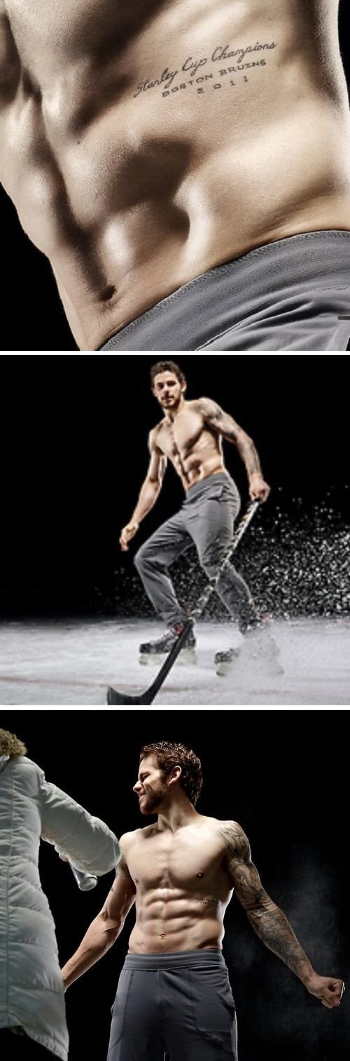 Tyler Seguin .....hmmm maybe all hockey players should take photos without shirts. Let's make that happen