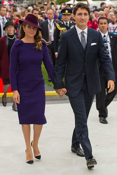 See Kate Middleton's and Sophie Grégoire Trudeau's Royal Tour Style - The Kit