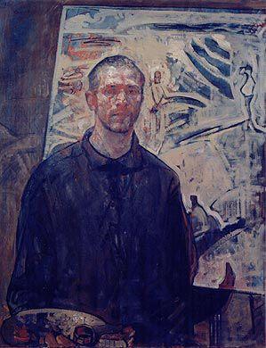 Selvportrett, 117x92, 2002