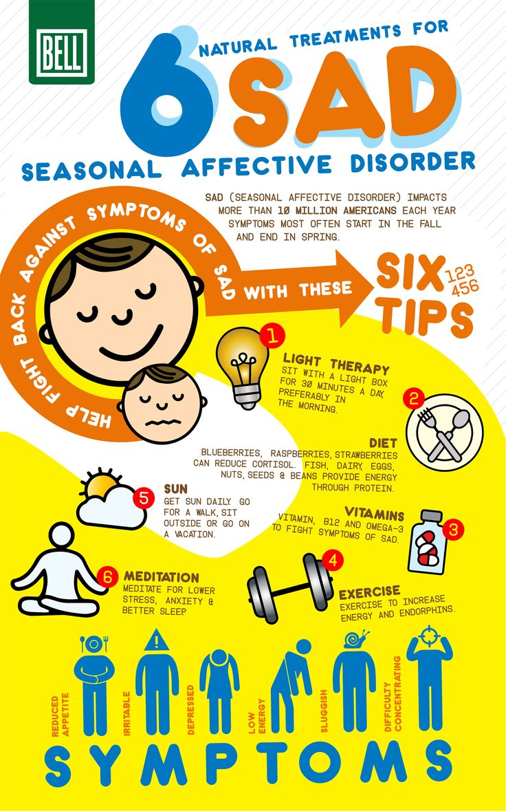 6 natural treatments for seasonal affective disorder infographic bell wellness center