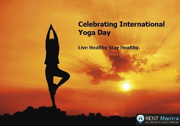 """Yoga is the journey of the Self, to the Self, through the Self."" Happy International Yoga Day. ‪#‎yoga‬ ‪#‎internationalyogaday‬ ‪#‎rentmantra‬ #health"