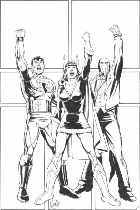 Canadian Big Three - Commander Steel, Nelvanna and the Penguin