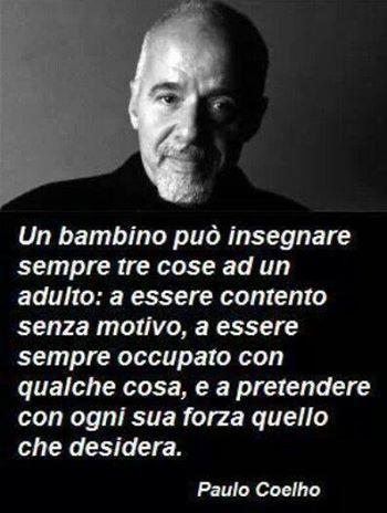 Paulo Coelho..eii buongiorno..km stai?