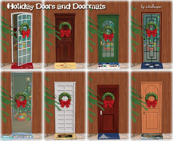 windkeeperu0027s Holiday Doors and Doormats  sc 1 st  Pinterest & 49 best TS2 Themes - Snowflake Day images on Pinterest | Advent ...