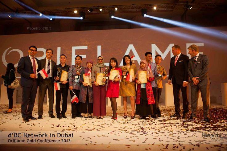 7 orang top 15 Asia berasal dari Indonesia 5 dari dBCN mantaaaap... #OriflameGC2013