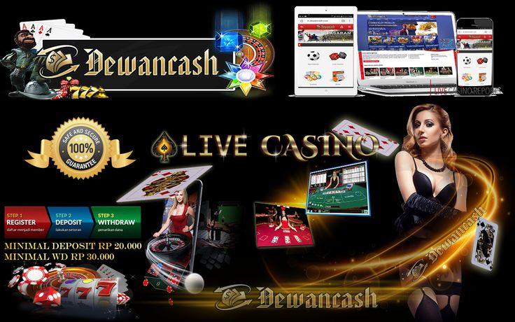 www.dewancash.com adalah situs betting terpercaya di asia, cukup 1 akun bisa bermain semua games, seperti bola, casino, togel, poker, tangkas, sabung ayam, slot, numbergame  Bonus Mengajak Teman Mendaftar dan Bermain di www.Dewancash.com DP 100rb sd 1jt Bonus 5%, DP Di Atas 1jt Bonus 10%, Teman Bos Juga Dpt Bonus DP 5%. BBM D8DE6D50  Bonus Cashback 5% up to 15% Bonus Rollingan Casino 0.8 Setiap Minggu Bonus Referral Semua Games 3% Bank Online 24jam BRI, BNI, MANDIRI, DANAMON  Pelayanan Yang…